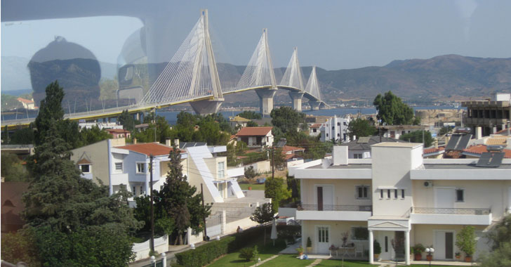 Excellent Bridge opened during 2004 Greece Olympic