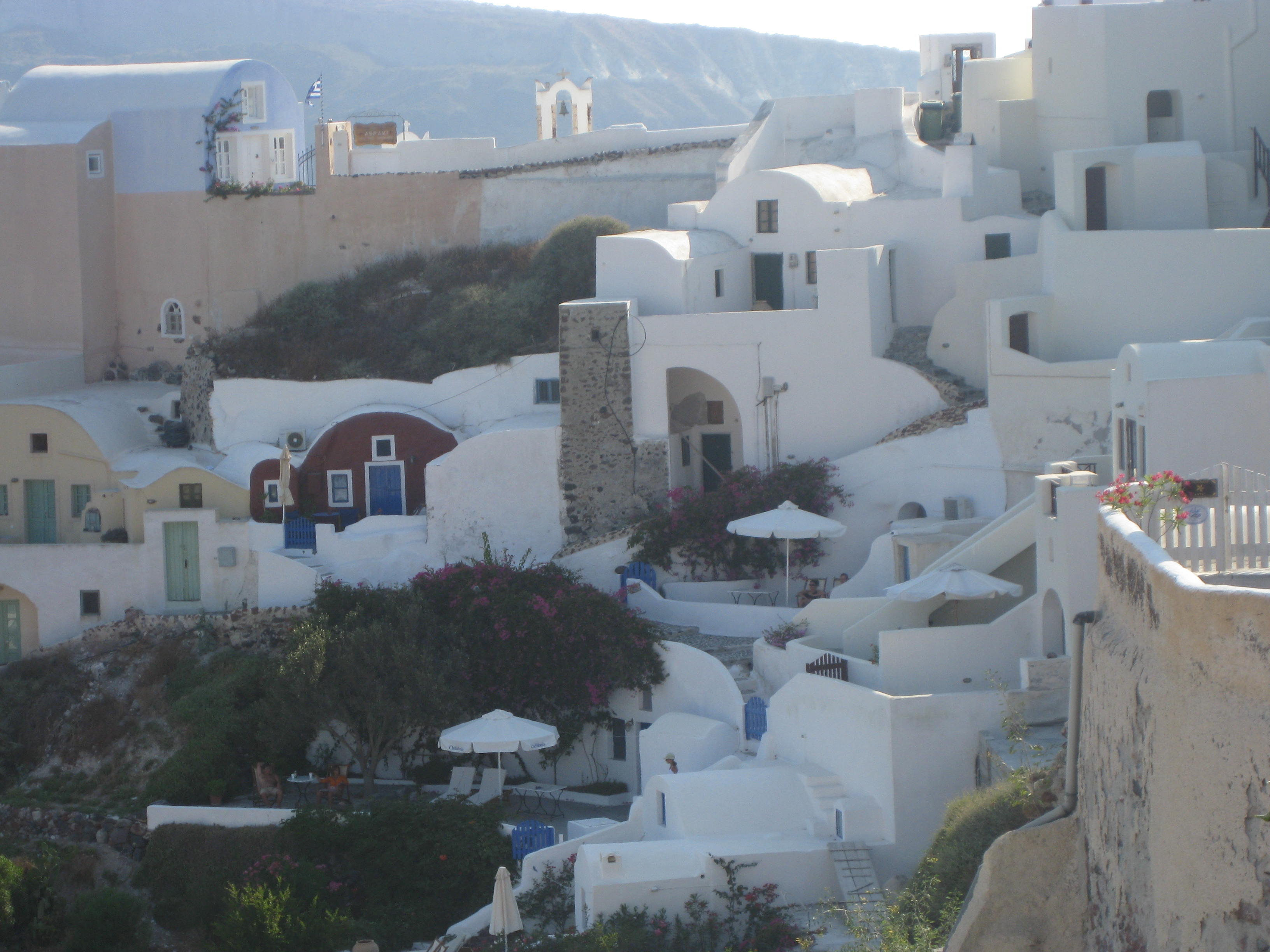 Typical Houses at Santorini